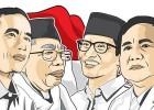 Survei Pilpres 2019: Jokowi-KH Ma'ruf Amin Masih Unggul
