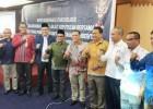 Bawaslu-KPI- KPU Riau Teken MoU Pengawasan Penyiaran Iklan Kampanye