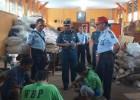 Komandan Lanal Banyuwangi Kunjungi Kalapas Banyuwangi