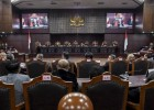 MK Tolak Semua Gugatan Pilpres Prabowo-Sandiaga