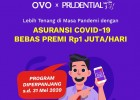 Perlindungan Jiwa Kecelakaan & COVID-19 Bebas Premi