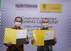FFUI dan Huntsman Donasi Hand Sanitizer Bagi Tenaga Kesehatan
