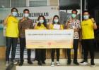 BorongBareng.com Donasikan 40,000 Masker Bedah dan 200 APD