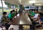 GP Ansor Depok Mendoakan Pradi-Afifah