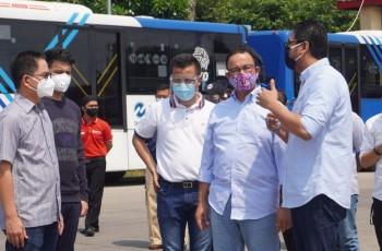 Usai Sidak Anies, Dirut Transjakarta: Insyaallah Siap Antisipasi Ganjil-Genap