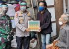 Palagan AKABRI 94 dan IKBTP AKPOL 94 Salurkan Ribuan Paket Sembako