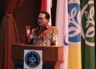 Rokhmin Dahuri Menyampaikan Pidato Kunci di Seminar Nasional IPB