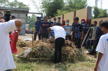 Jamkrindo dan Salarea Foundation Gelar Pelatihan Pengolahan Sampah