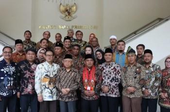 Pengurus Adkasi Diterima Wapres KH. Ma'ruf Amin di Istana