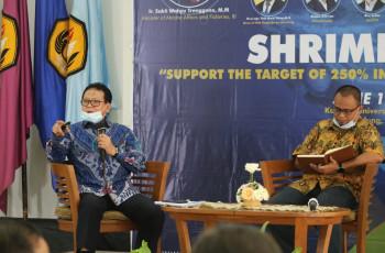 Rokhmin Dahuri Paparkan Strategi Revitalisasi dan Ekstensifikasi Tambak Udang untuk Produksi 2 Juta Ton
