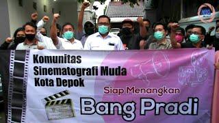 Komunitas Sinematografi Muda Kota Depok Deklarasikan Dukungan untuk Pradi-Afifah
