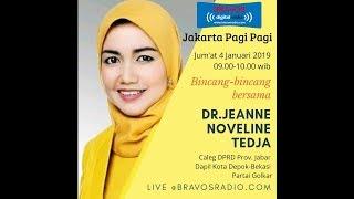 Bincang Bincang Bersama Dr Jeanne Noveline Tedja di Bravos Radio